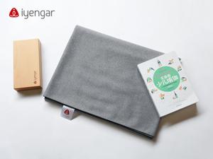 A2036 毛毯(浅灰)瑜伽毯 支持力极好 常用辅具